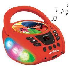 MIRACULOUS - Lecteur CD Bluetooth - Lumineux