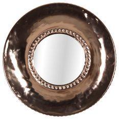Miroir cuivré Louise 39cm