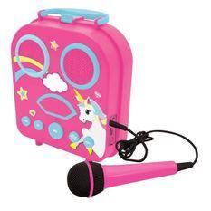 Mon karaoké secret portable Licorne