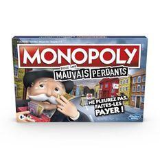 Monopoly Mauvais Perdants - Jeu de societe - Jeu de plateau - Version française