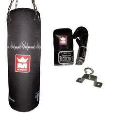 MONTANA Kit sac de frappe Bagpack - 85 x 30 cm - Noir