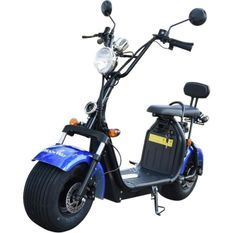 MOOVWAY Scooter électrique Coco - Homologuée Route - Bleu