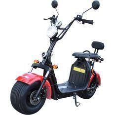 MOOVWAY Scooter électrique Coco - Homologuée Route - Rouge