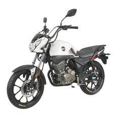 Moto 125cc homologuée 2 personnes Kiden KD125-G blanc