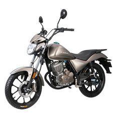 Moto 125cc homologuée 2 personnes Kiden KD125-K gris