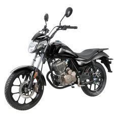 Moto 125cc homologuée 2 personnes Kiden KD125-K noir