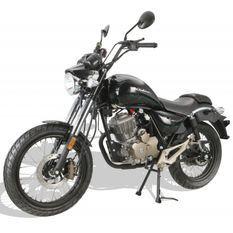 Moto 125cc homologuée 2 personnes Kiden KD125-M gris
