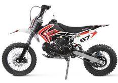 Moto 125cc Storm 4 temps 14/12 e-start semi automatique rouge