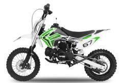 Moto 125cc Storm 4 temps 14/12 e-start semi automatique vert