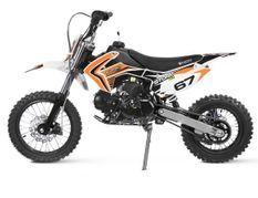 Moto 125cc krazo 4 temps 14/12 e-start automatique orange
