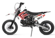 Moto ado 125cc Krazo 4 temps 14/12 e-start automatique rouge