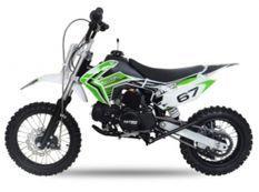 Moto ado 125cc krazo 4 temps 14/12 e-start automatique vert