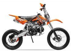 Moto cross 125cc automatique 17/14 orange Sprinter