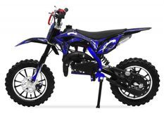 Moto cross 49cc Panthera 10/10 automatique bleu