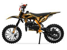 Moto cross 49cc Panthera 10/10 automatique orange