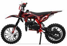 Moto cross 49cc Panthera 10/10 automatique rouge