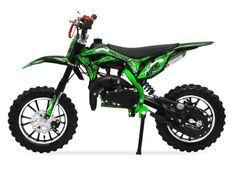 Moto cross 49cc Panthera 10/10 automatique vert
