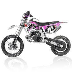 Moto cross 50cc Racing 14/12 3.5cv automatique Kick starter rose