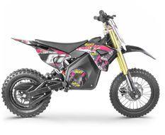 Moto cross électrique 1100W lithium 36V SX violet 12/10