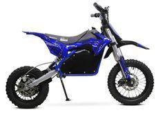 Moto cross électrique 1200W 48V lithium 12/10 Prime bleu