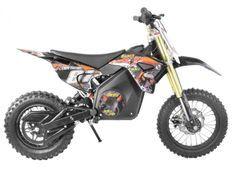 Moto cross électrique 1300W lithium 48V SX orange 14/12