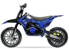 Moto cross électrique 500W 36V 10/10 Prime bleu