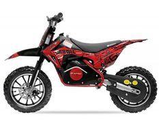 Moto cross électrique 500W 36V 10/10 Prime rouge