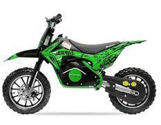 Moto cross électrique 500W 36V 10/10 Prime vert