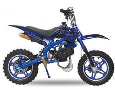 Moto cross enfant 49cc 10/10 Viper bleu