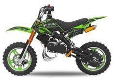 Moto cross enfant 49cc 10/10 Viper vert