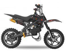 Moto cross enfant 49cc e-start 10/10 Viper noir