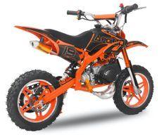 Moto cross enfant 49cc e-start 10/10 Viper orange