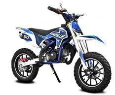 Moto cross enfant 49cc Gazelle 10/10 bleu