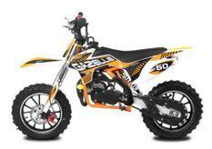 Moto cross enfant 49cc Gazelle 10/10 orange