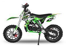 Moto cross enfant 49cc Gazelle 10/10 vert
