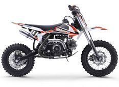 Moto cross enfant 70cc automatique orange et noir MX70 12/10