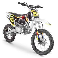 Moto cross MX 140cc orange 17/14 pouces moteur YX