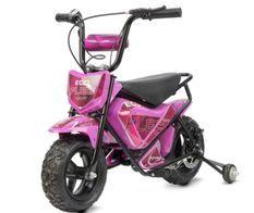Moto électrique avec roues stabilisatrices kuyez 250W 24V Rose