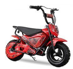 Moto électrique avec roues stabilisatrices Kuyez 250W 24V Rouge