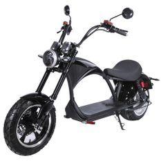 Moto électrique eMV1 Azur Scooter Noir