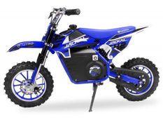 Moto enfant 1000W bleu 10/10 pouces Speenk