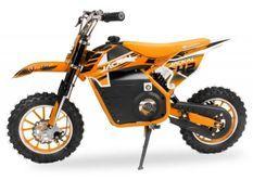 Moto enfant 1000W orange 10/10 pouces Speenk