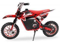 Moto enfant 1000W rouge 10/10 pouces Speenk