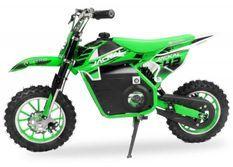 Moto enfant 1000W vert 10/10 pouces Speenk