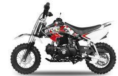 Storm V2 90cc automatique rouge 10/10 pouces Dirt Bike
