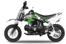 Storm V2 90cc automatique vert 10/10 pouces Dirt Bike