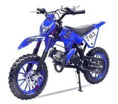 Moto enfant Super cross 49cc 10/10 bleu