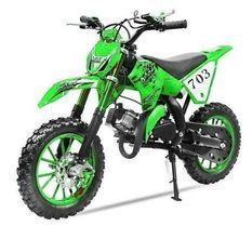 Moto enfant Super cross 49cc 10/10 vert