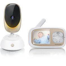 MOTOROLA BABY Comfort 45 connect 2 en 1 (wifi sur smartphone + ecran video 2,8) alerte mouvements