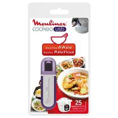 MOULINEX Accessoires XA600311 Clé USB theme Asie pour Cookeo